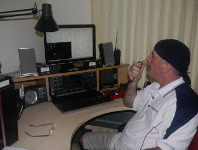Chris Reid using DXtreme Station Log